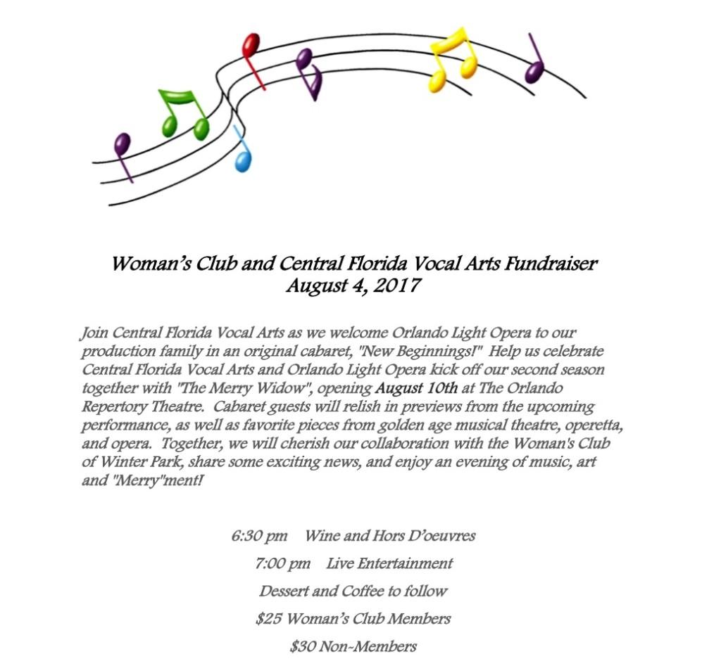 Vocal Arts Fundraiser